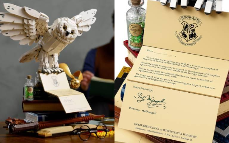 《哈利波特》上映20周年!攜手LEGO推出「限定盒組」,重現經典物件!