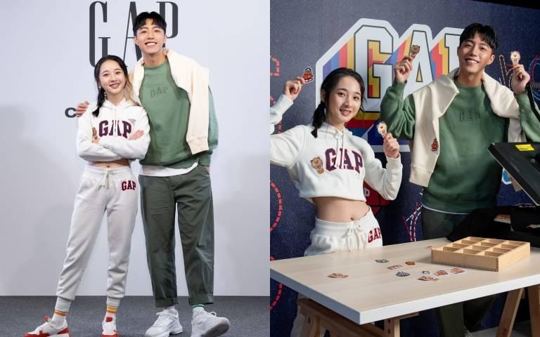 自曝「其實腿很短」GAP品牌好友蔡凡熙、李沐這樣搭找回大長腿