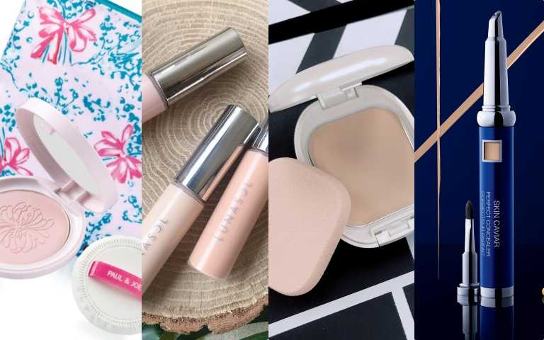 夏日最強 TOP4口袋底妝名單 包括口袋縮時底妝、遮瑕、粉餅、蜜粉餅超完整