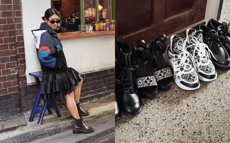 連Virgil Abloh都是她粉絲!韓裔DJ Peggy Gou穿上LV 老花系列鞋款,俐落又帥氣的老花切爾西短靴怎麼能不來一雙!