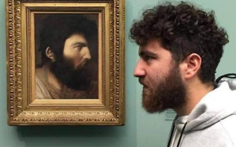 原來在美術館裡也可以找到自己?早在幾世紀前你就已經被畫下來了!