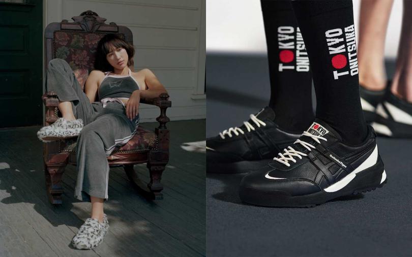 休閒鞋有潮味!跨界東京奧運、推出毛毛豹紋懶人鞋 上街炫鞋強佔時尚話題