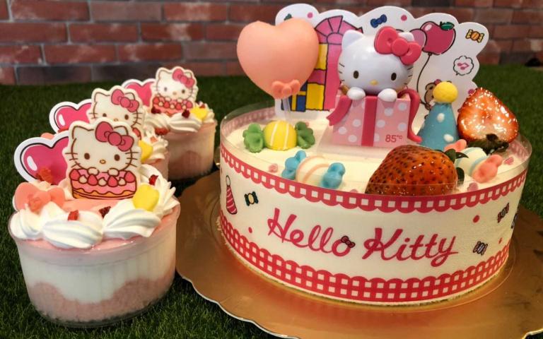 三麗鷗女神駕到!凱蒂貓公仔蛋糕限量發售 錯過要再等一年