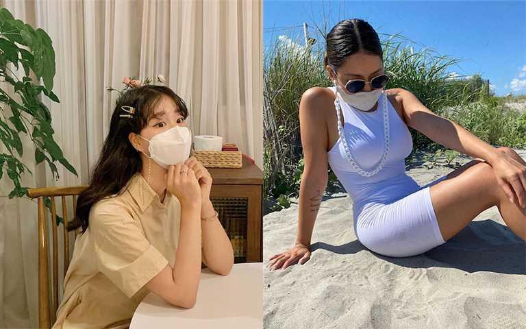買起來!最潮的防疫週邊「口罩項鍊、口罩迷你包」