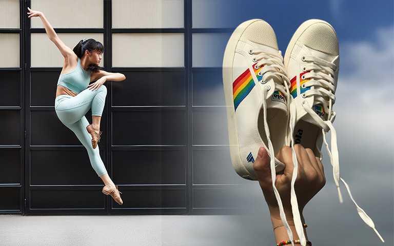 你知道「彩虹」每色代表的意義嗎?彩虹新單品:彩虹小白鞋、彩虹髮圈