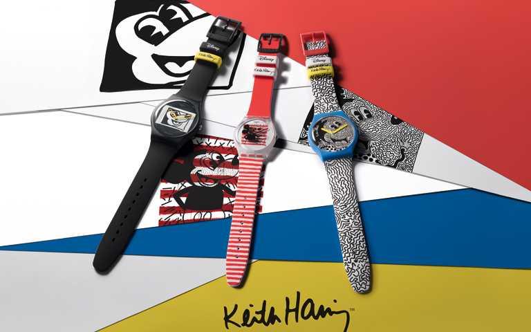 米奇控尖叫手刀開搶!SWATCH聯乘迪士尼與Keith Haring神級塗鴉,再現腕間潮藝新風暴