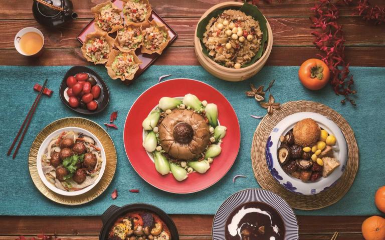 素食者也能吃很好!蔬食年菜、素食粥品 豐富美味好選擇
