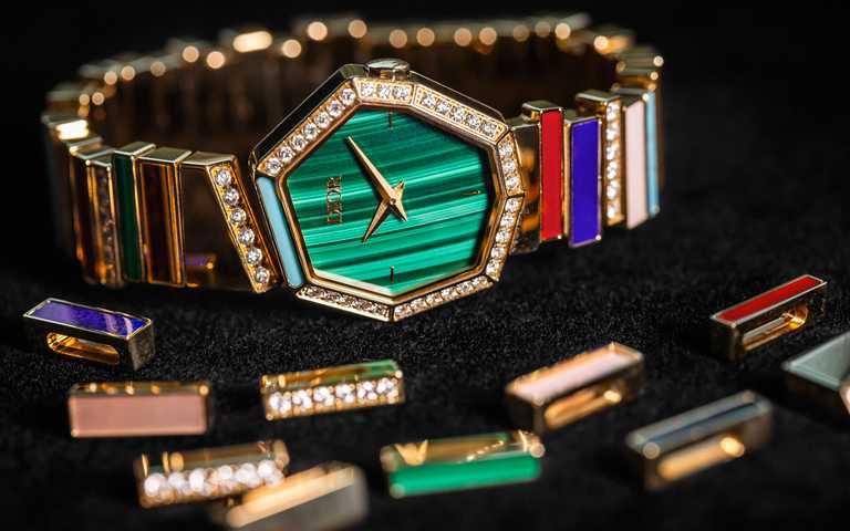 有機形變腕間綺趣!GEM DIOR珠寶與腕錶瀲灩異想原創新作 玩轉奇巧八邊型彩寶色階