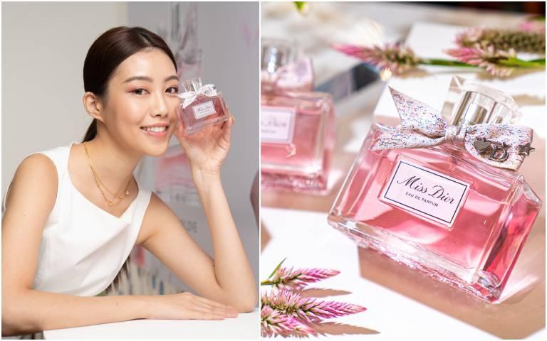 Miss Dior 香氛再推新香氣!這次變身成年輕奔放、甜蜜多汁的少女!還有客製化服務能幫你別上專屬字母吊飾!