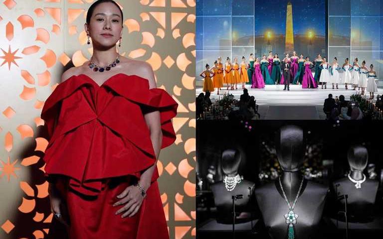 林嘉欣仙氣冠頂華人女星One & Only!阿布達比見證寶格麗Jannah頂級珠寶新作