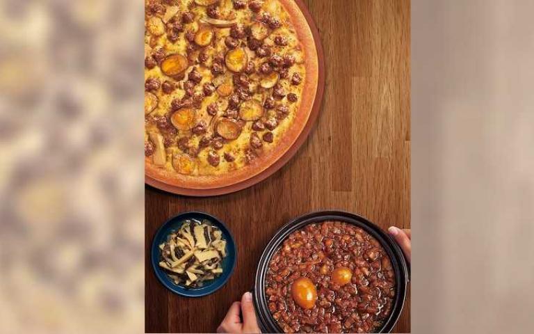 披薩mix滷肉飯改寫台灣美食史