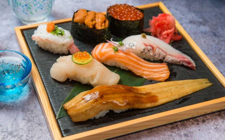 台中點餐送菜「零接觸」餐廳新開幕 主打旬鮮美味直達包廂