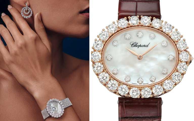 流轉鑽時風華!蕭邦「L'Heure du Diamant」系列自動上鏈腕錶 皇冠式鑲嵌工藝綻放璀璨光彩