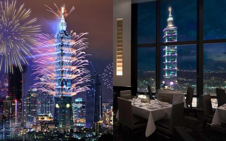 2021跨年必訂6大餐廳,再晚就搶不到了!台北101煙火就在眼前,嗨到最高點