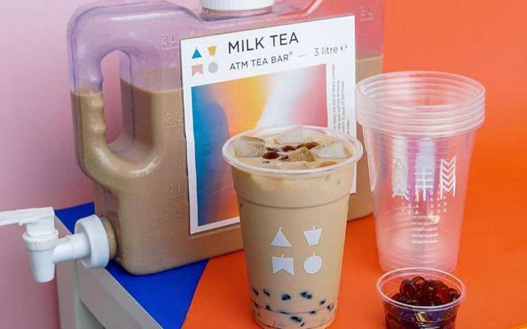 巨無霸「3公升奶茶飲水機」喝到爽,一週不出門都不成問題!