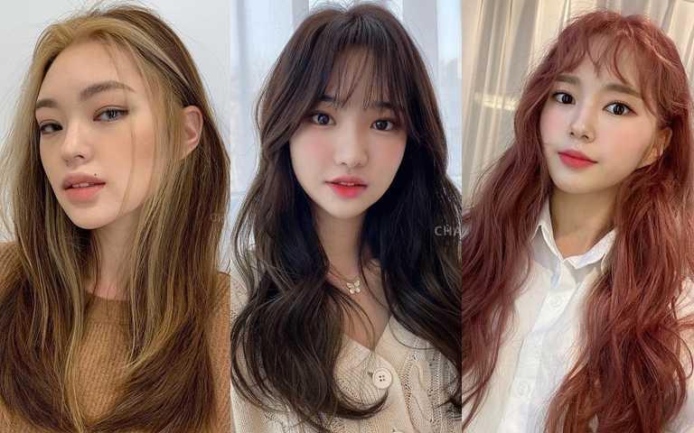 2021最新染髮髮色推薦!黑茶棕、冷霧粉、酒紅棕、玫瑰金以上這些髮色關鍵字都是韓妞們的最愛