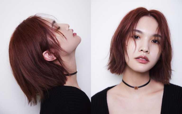 楊丞琳最新髮色『紅磚葡萄酒色』!超顯白又年輕,今年就染這個色!