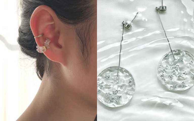 像是把冰塊隨身攜帶的清涼感,夏日必備「透明感配件」推薦!