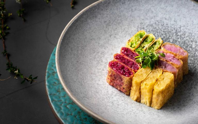 台南飯店推出「淮揚春色」料理 色香味形意境皆美