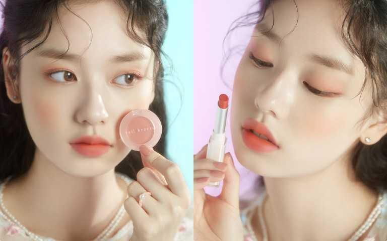最近韓國流行一股『春感戀愛顏』畫風!聽說一畫上就很容易有桃花,比拜月老還有效!