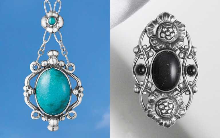 純銀寶石復刻北歐匠藝!絕美珍藏GEORG JENSEN喬治傑生「限量復刻」訂製珠寶