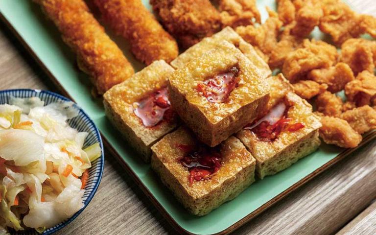 東門市場新滋味4/阿平臭豆腐 豆香臭味迷人