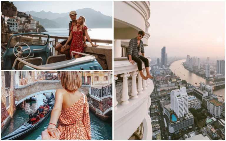 全世界都在看他們玩!Instagram上最多人關注的7位旅行家!