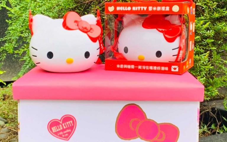 凱蒂貓控要尖叫啦!85ºC推出超萌Hello Kitty造型雪餅禮盒 預購還享85折超值優惠
