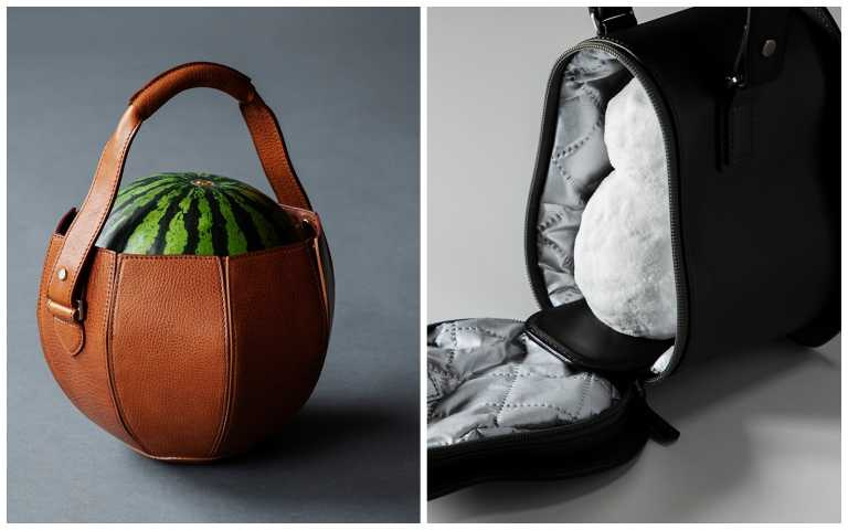 大人的玩具!「土屋鞄製造所」推出西瓜、酒杯和雪人的高顏值皮革提袋!