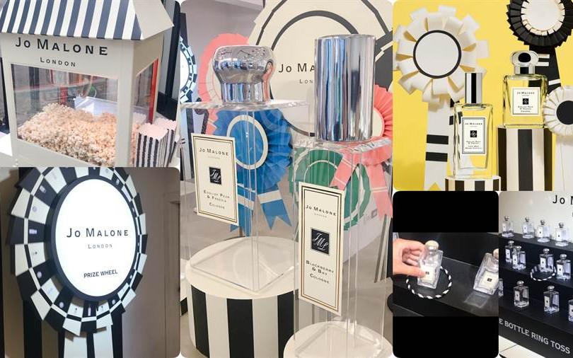 全球首場 JO MALONE LONDON 香氛園遊會在台北,最大獎是抽中30ML正品香氛