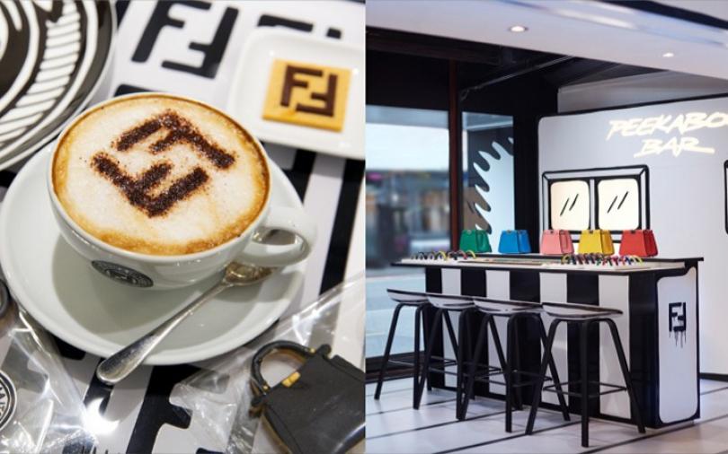 英國必去打卡景點! FENDI期間限定CAFFE,錯過不知道還要等多久!