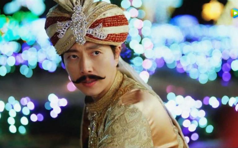 朴海鎮挑戰搞笑演技 扮印度人大跳滑稽「辣雞舞」