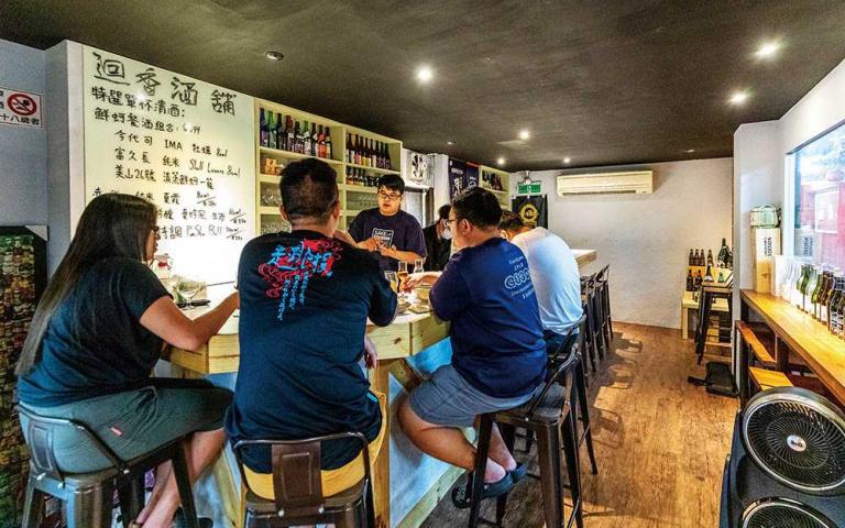 東門市場新滋味5/迴香酒舖 清酒賞味搭餐