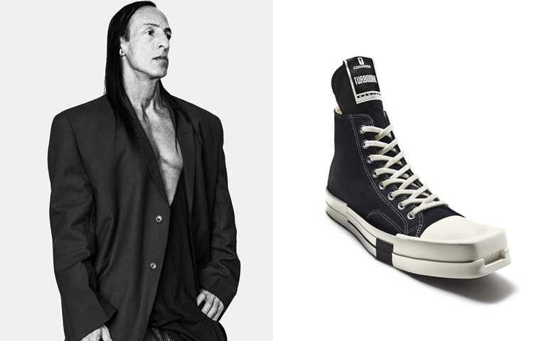 2021第一雙帥鞋登場!Converse攜手Rick Owens打破帆布鞋的設計傳統,品牌史上重大突破!