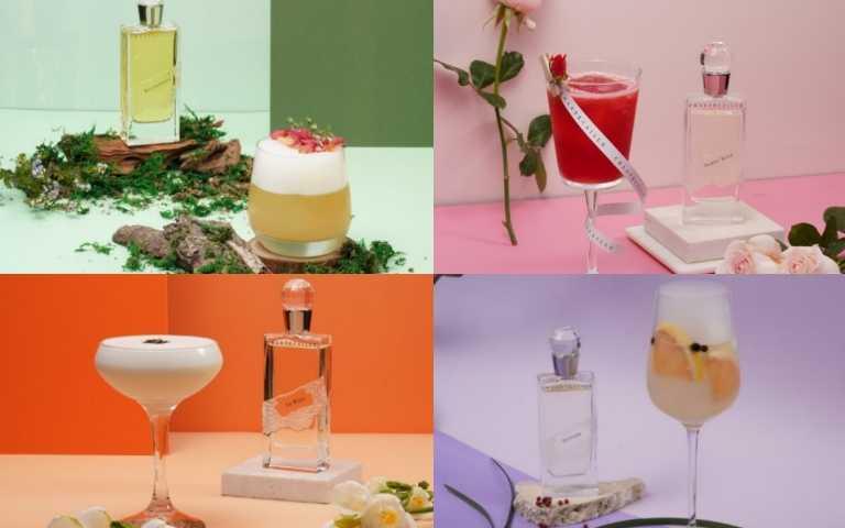 用喝的香水!?香緹卡X台北W飯店WOOBAR推出期間限定「FLORAL LADY花漾女人」香氛調飲,喝一杯全身散發美妙香氣!