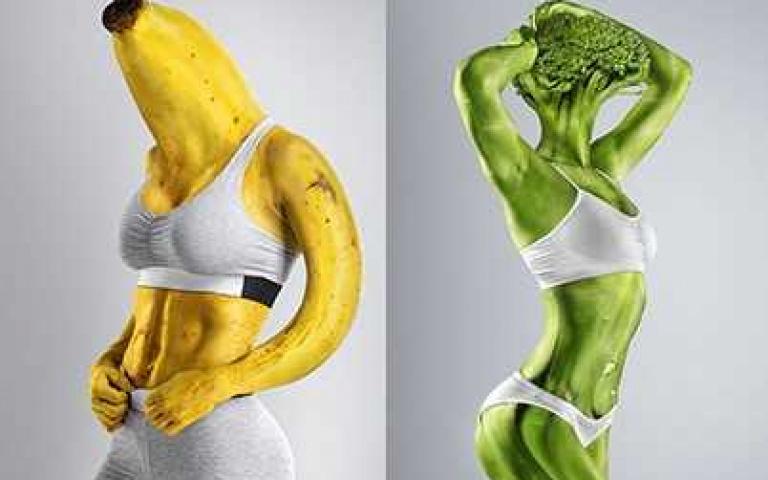 多吃蔬果健康至上,那你有看過蔬果人嗎?
