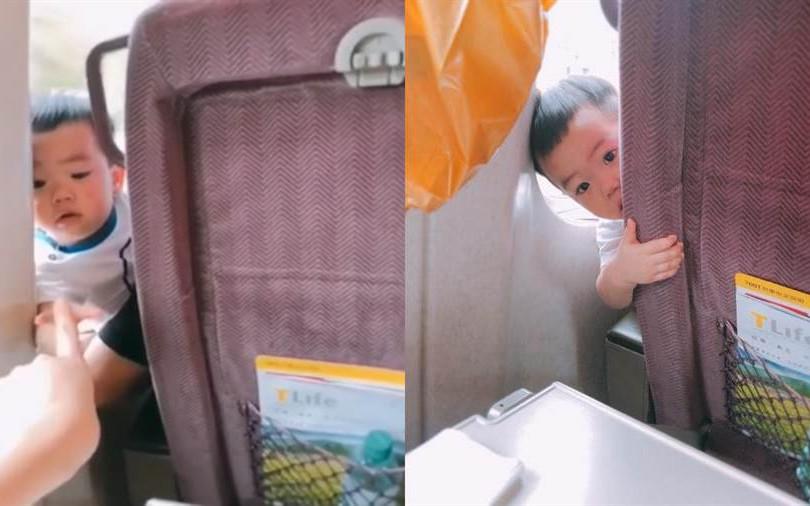 蔡桃貴高鐵騷擾乘客 「鑽縫對手指」萌翻網友