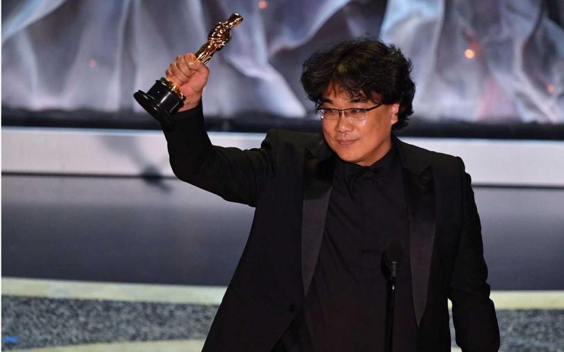 92屆奧斯卡得獎名單/《寄生上流》橫掃四大獎 奉俊昊:我要一路喝到天明