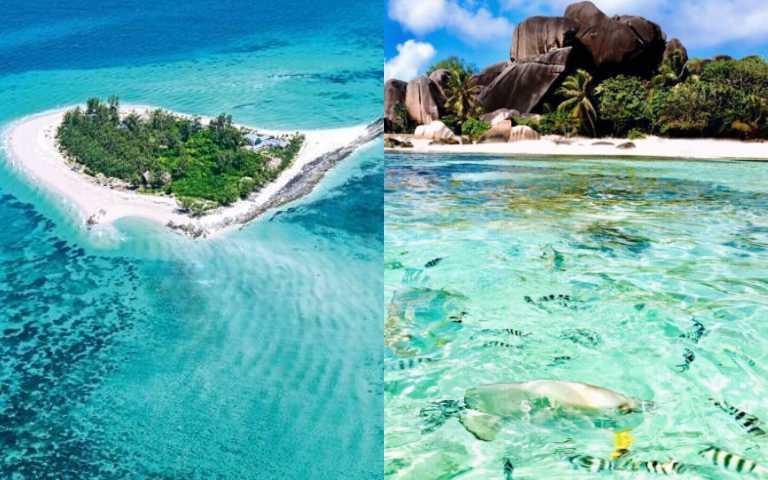 這是真實存在的地方嗎?王室貴族都愛去的塞席爾群島,光看照片就心動了!