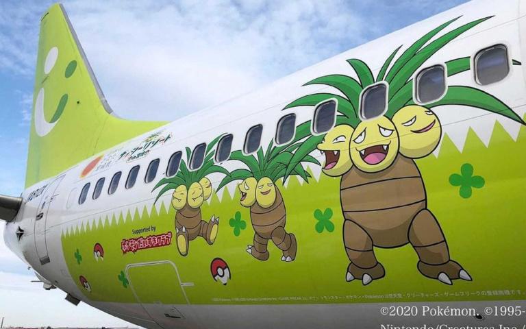 人要衣裝,飛機要塗裝!搭上寶可夢Pokémon班機抓寶去!