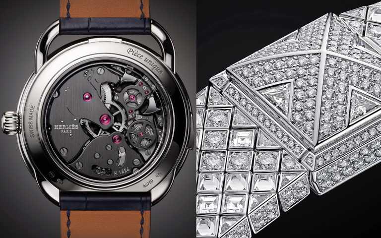 三問陀飛輪、琺瑯工藝加乘頂級珠寶!愛馬仕2020年度腕錶 嘶吼暴龍與鑽石金字塔超凡問世