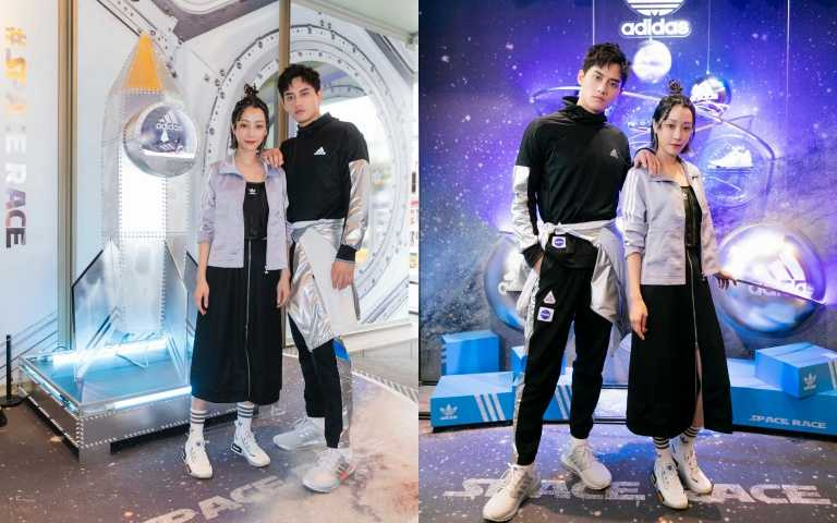 一起去外太空過耶誕!adidas、adidas Originasl聯手打造超時髦耶誕限定店,跟著范少勳、謝欣穎一起潮翻銀河系