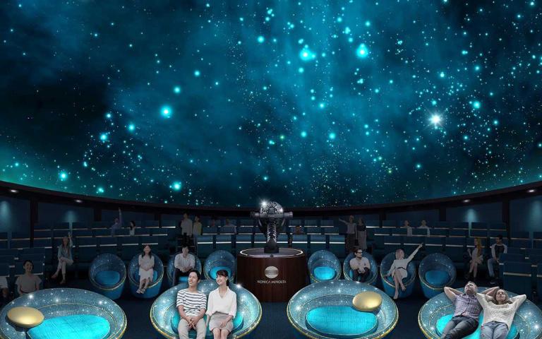 不必日曬雨淋就能看星星!史上最美天文館,還提供夢幻「星空甜點」讓你美照拍不完!