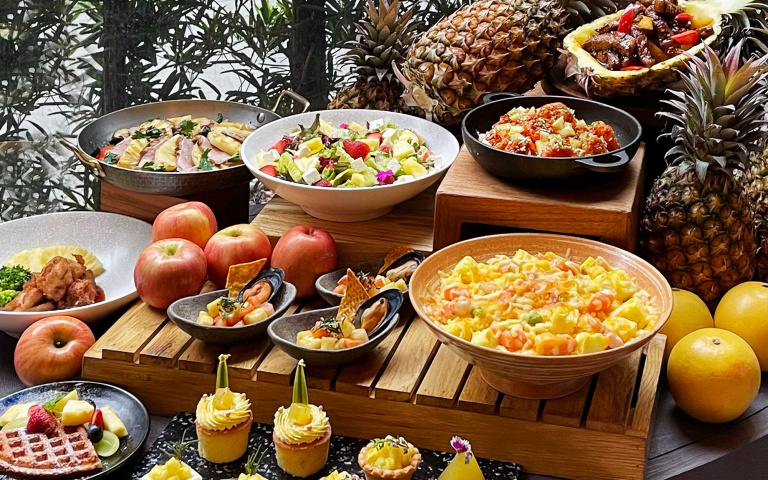 金鑽鳳梨入菜好驚豔!壽星、宜蘭人跟早鳥還有優惠活動 快快結伴搶吃