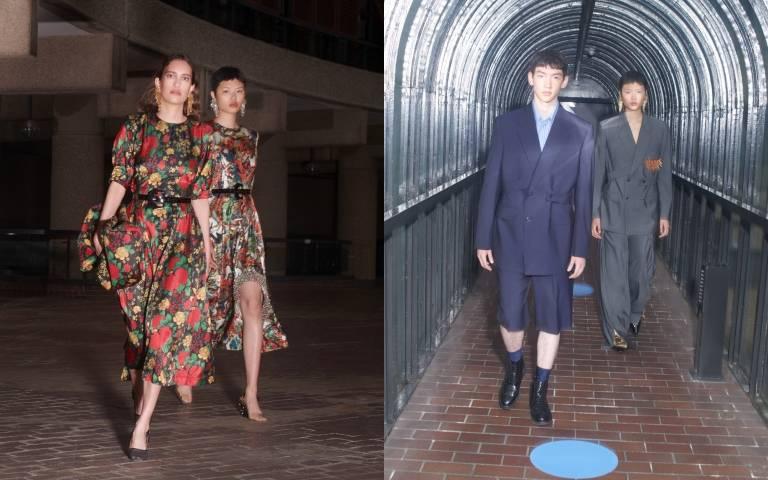 H&M攜手TOGA ARCHIVES推出聯名系列,以復古布花與奇特圓弧構築成奇特感官美學