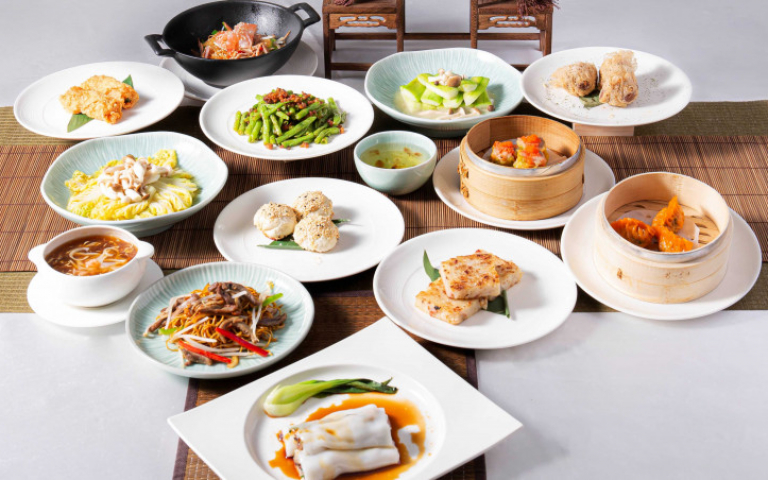 板橋午餐新選擇!8款港點無限續點吃到飽加碼煲湯、蔬食、主食、甜點 補充上班能量