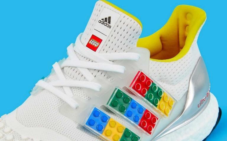 三線標誌自己拼!adidas再度攜手樂高,推出玩味十足的限量鞋!