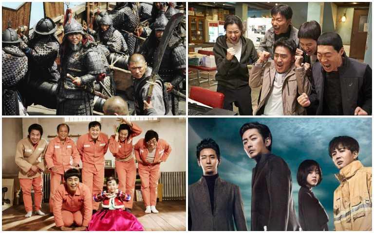 韓國影史票房TOP10大公開,驚悚懸疑、催淚、喜劇通通看起來!