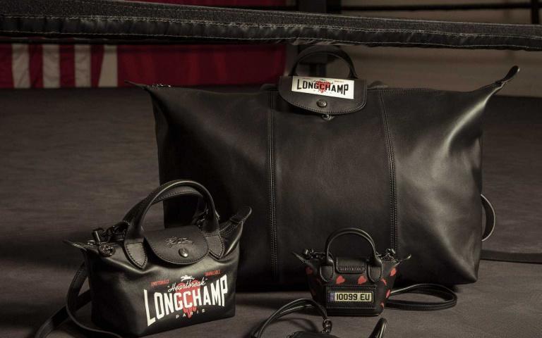 Longchamp x EU創造玩味拳擊風格!