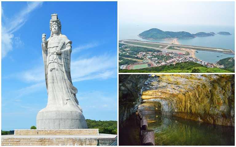 從藍眼淚玩到巨神像!「台灣好行」進駐馬祖 搭迷彩巴士輕鬆跑透透